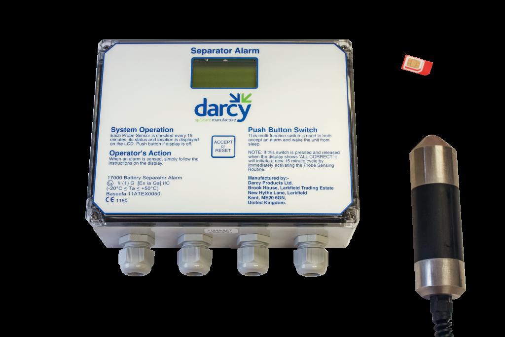 Battery Separator Alarm