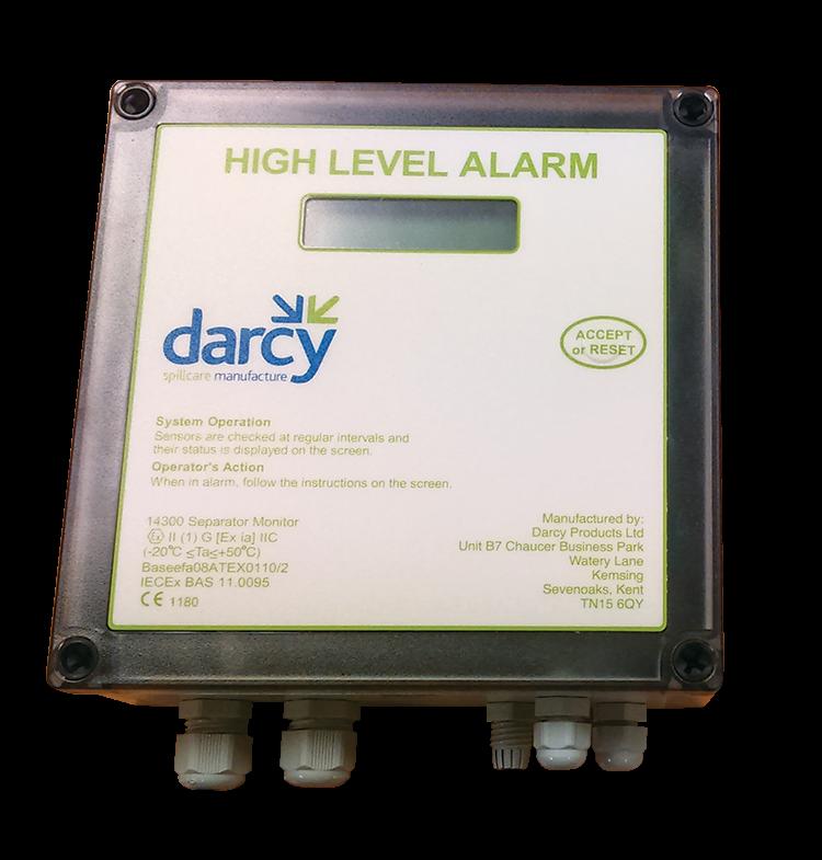 high level alarm